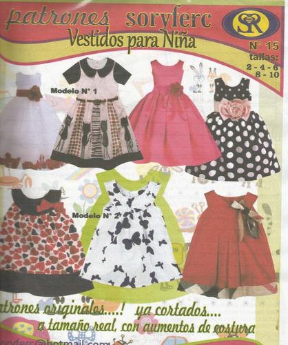 patrones soryfec vestidos para niñas