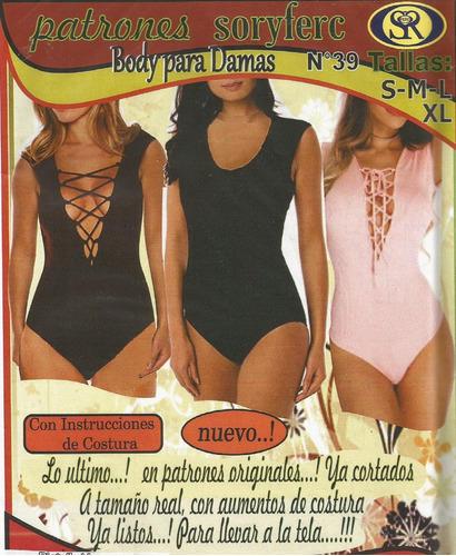 patrones soryferc body de damas