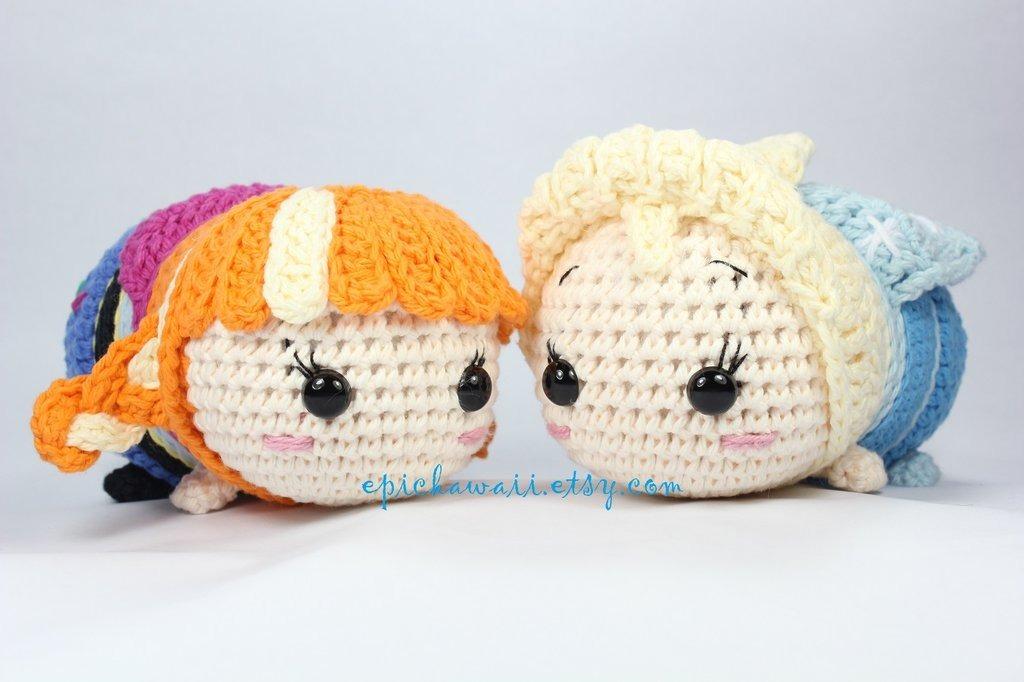 Patrones Tsum Tsum Amigurumis Crochet X14- +1 Reg. - $ 100,00 en ...