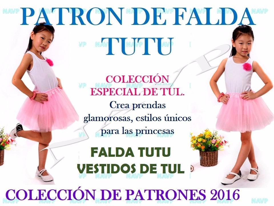 Patrones Tutu De Niñas Bebe Conjuntos Faldas Vestido Aprende - Bs ...