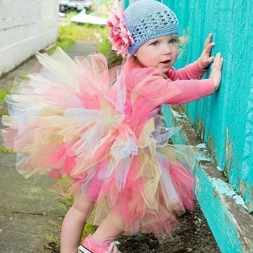 patrones tutu de niñas bebes conjunto falda vestido aprende