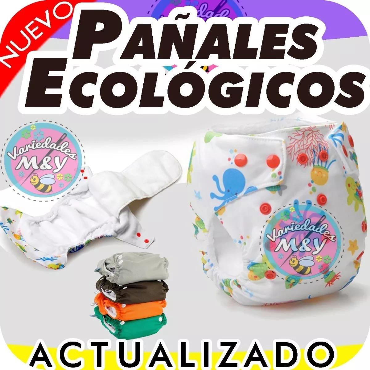 Patrones Y Moldes Para Pañales Ecológicos De Tela + Obsequio ...