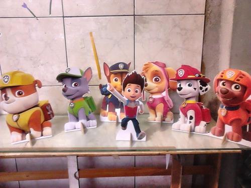 patrulha canina 10 displays de mesa decoração festa infantil