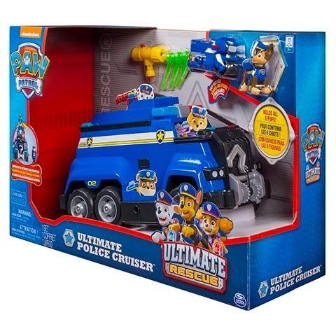 patrulha canina carro ultimate police cruiser