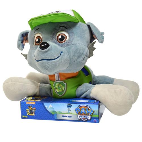 patrulha canina pelúcia rocky 20 cm sunny brinquedos 1322