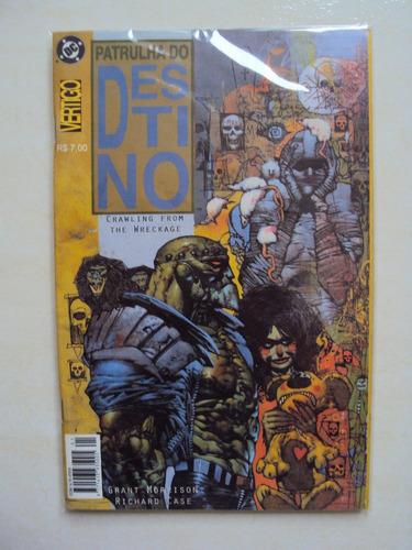 patrulha do destino - dc comics - mythos