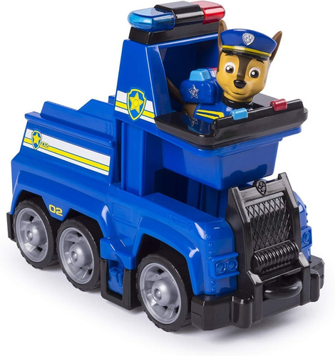 patrulla cachorros canina paw patrol vehiculo con figura