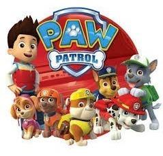patrulla canina paw patrol set x 6 vehiculos a friccion!!!!!