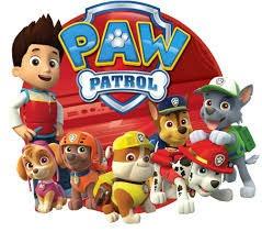 patrulla canina paw patrol set x 7 personajes + 8 accesorios