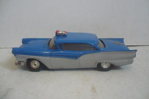 patrulla ford fairlane 57 - juguete antiguo escala lili ledy