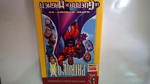 patrulla x la guerra de magneto coleccion extra superheroes