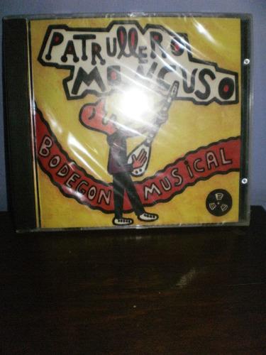patrullero mancuso - bodegón musical cd importado - españa