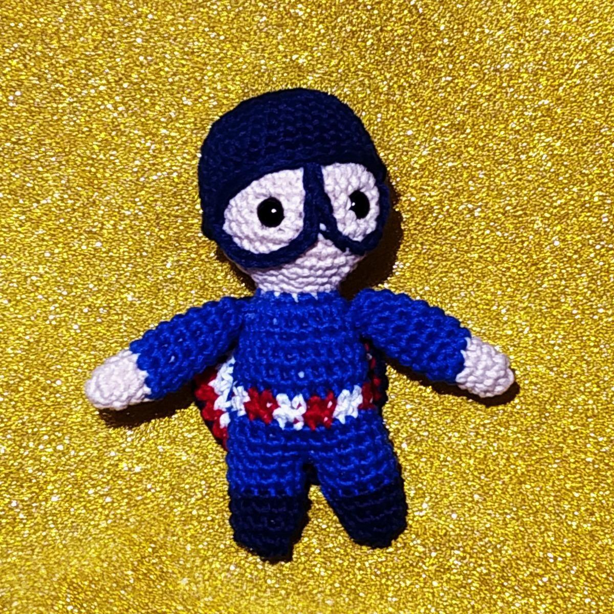 Amigurumi Captain America Pattern | Amigurumi | Crochet | Free 30 ... | 1200x1200