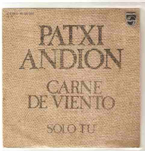 patxi andion ep español carne de viento / solo tu