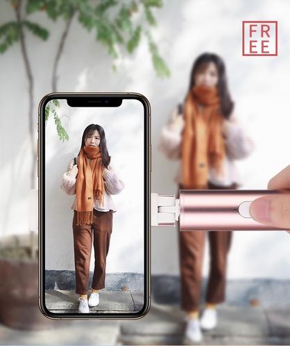 pau bastão de selfie stick bluetooth p/celulares/iphone/galaxy da devia