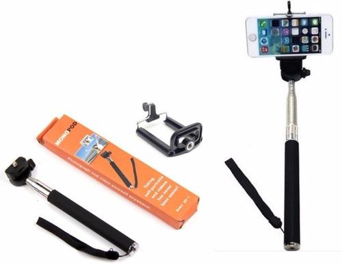 pau de selfie monopod bastão retrátil celular pronta entrega