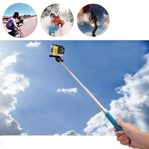 pau de selfie monopod cameras + tripod mount adaptador gopro