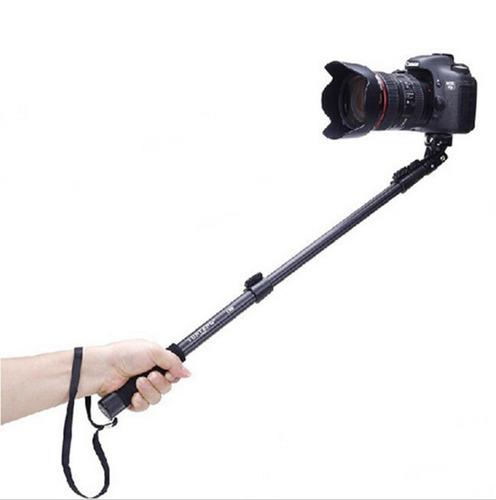 pau de selfie profissional yunteng 1,25mt gopro sony action