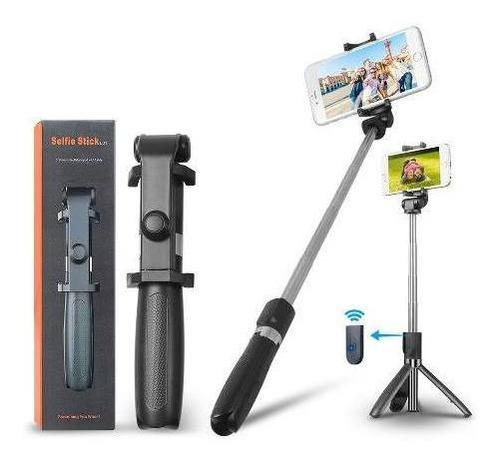 pau de selfie tripe bluetooth s/ fio original qualidade 2un