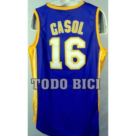 2289a800db5 Pau Gasol Jersey  adidas   16 Los Angeles Lakers Purpura -   500.00 ...