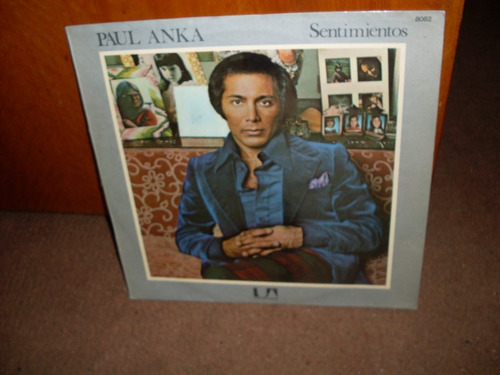 paul anka- sentimientos -vinilo nacional  sello united