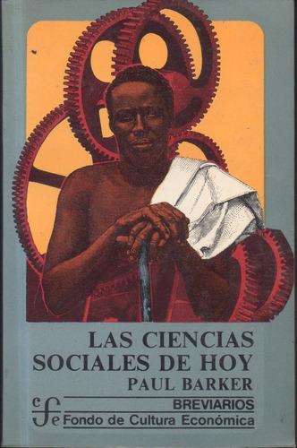 paul barker, las ciencias sociales de hoy