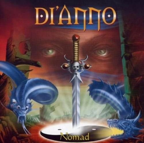 paul di'anno - nomad - cd seminovo original em ótimo estado
