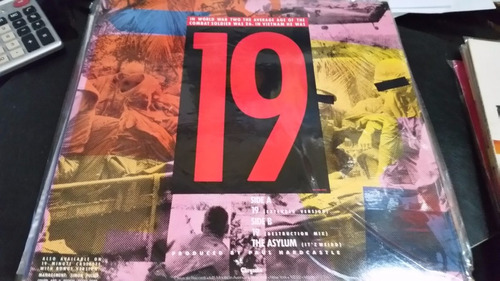 paul hardcastle 19 vinilo maxi usa temazo clasico