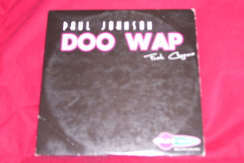 paul johnson feat chynna - doo wap  - cd single