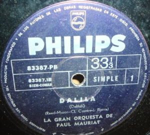 paul mauriat dalila / un adios simple argentino