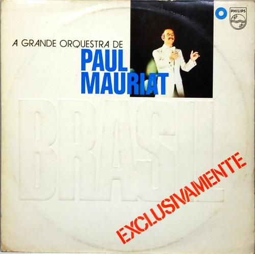 paul mauriat lp 1977 brasil exclusivamente stereo 15002