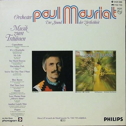 paul mauriat - lp musik zum träumen (1979) alemanha * smusic