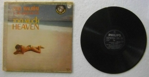paul mauriat / too much heaven  1 disco lp vinilo