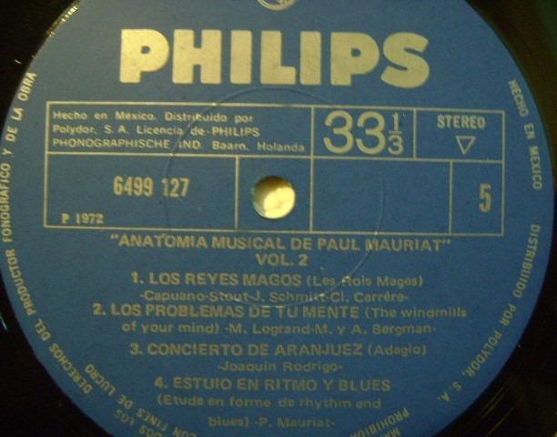 Paul Mauriat Y Su Orquesta 3 Discos Lp Vinilo - $ 240.00 en Mercado ...