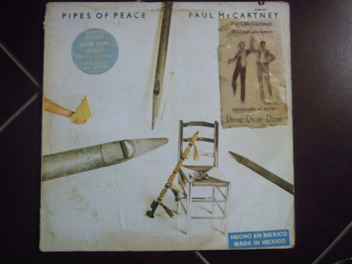 paul mc cartney lp pipes of peace