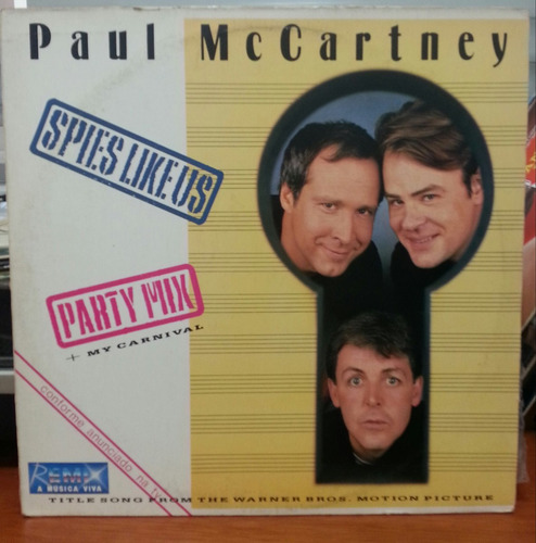 paul mc cartney - spies like us - 1985 (lp)
