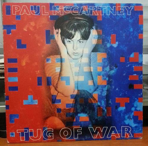 paul mc cartney - tug of war - 1982 (lp)