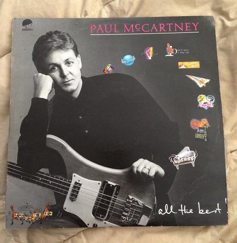 paul mccartney - all the best vinilo lp x2 the beatles wings