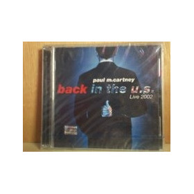 Paul Mccartney. Back In The U.s. Live 2002.