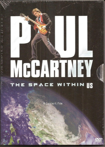 paul mccartney - [ dvd ] - the space within us - lacrado