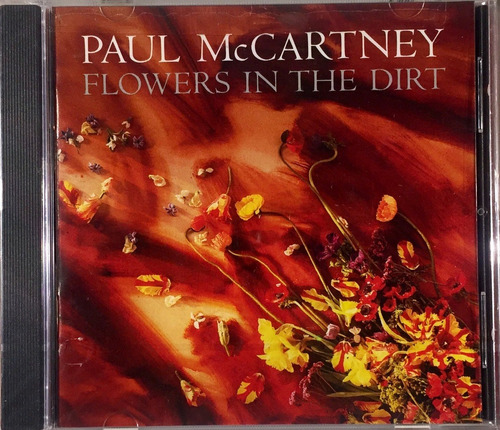 paul mccartney - flowers in the dirt - cd usa lacrado