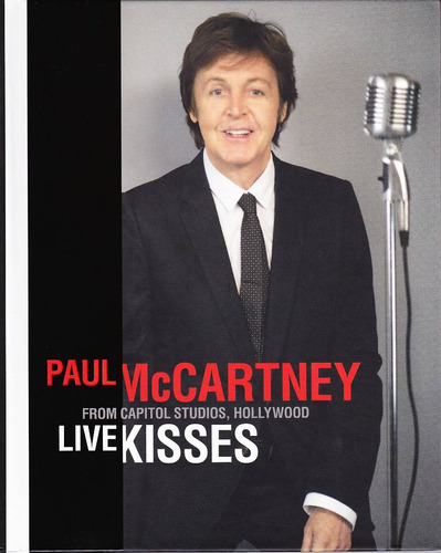 paul mccartney: live kisses (blu ray - 2012) deluxe nuevo