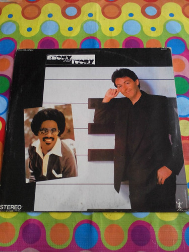 paul mccartney lp ebony and ivory 1982. inglaterra.