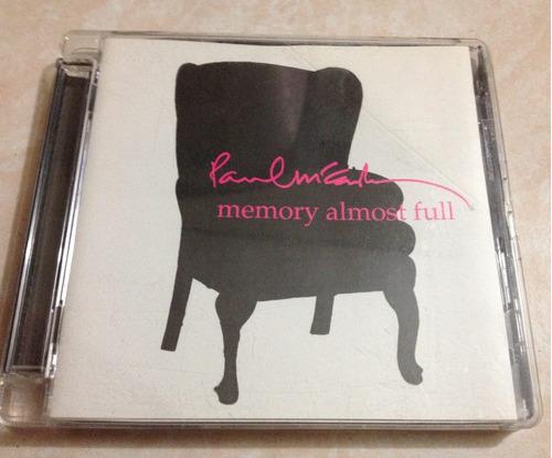 paul mccartney memory almost full cd usado importado e u