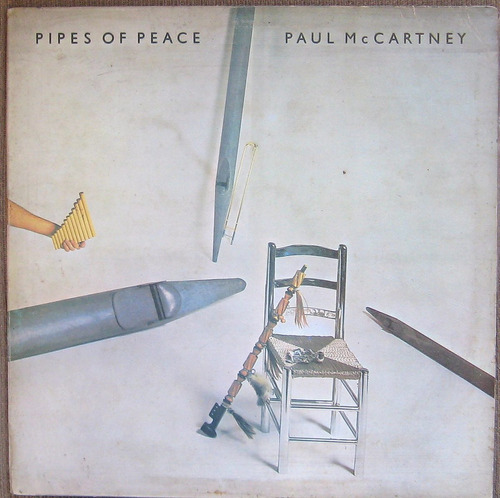 paul mccartney pipes of peace , beatles, lp vinilo