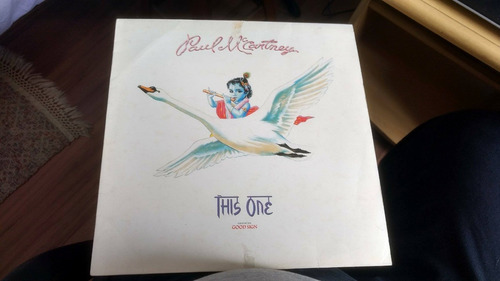 **paul mccartney- this one - vinil maxi single uk**