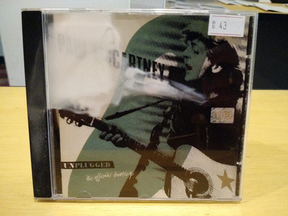 Paul Mccartney Unplugged The Official Bootleg Cd Album