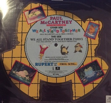 paul mccartney - we all stand together uk picture disc