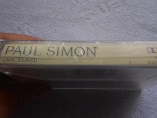 paul simon graceland fita cassete original nova lacrada