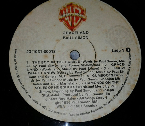 paul simon/ i know what i know/ you can call me/ lp vinil